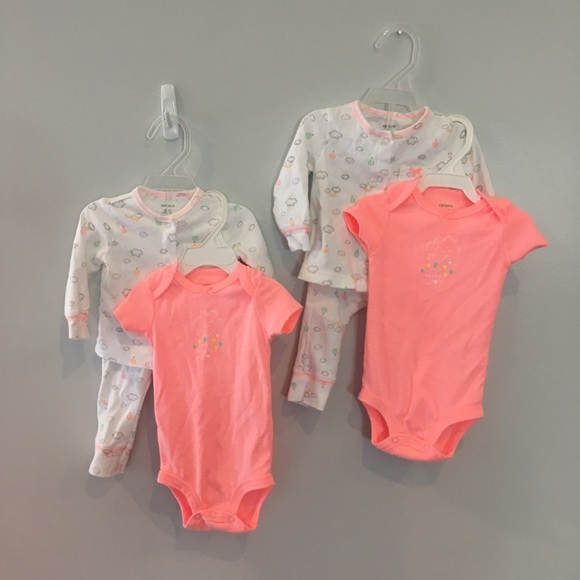 32aeac61e Carter's Matching Sets | Matching Infant Girls 6m Carters Cloud ...